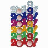 48 of NEW YEARS GLITTER GLASSES