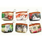 48 of KITTENS PRINTED COIN PURSE