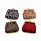 48 of ANIMAL SKIN PRINT CLASP COIN PURSE