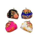 48 of FLOWERS SNAP ON COIN PURSE