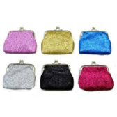 48 of GLITTER SNAP ON COIN PURSE