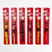 96 of Cat Collars With Bells Assorted Patterns