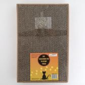 12 of Cat Scratching Cardboard Pad Heavy Duty With Catnap Pouch