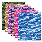 96 of BAZIC Camouflage 2-Pockets Portfolios