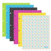 96 of BAZIC Polka Dot 2-Pockets Portfolios