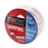 48 of Xtratuff 110 Yard Clear Packing Tape
