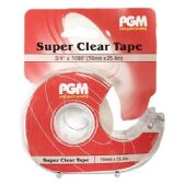 48 of 3/4 x 1000 Inch Clear Tape