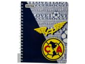 120 of Club America Wirebound Wide Ruled Notebook 100 Sheets