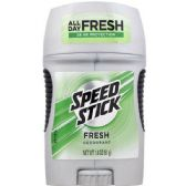 120 of Speed Fresh Scent Stick Deodorant Shipped By Pallet