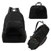24 of Ultra Lightweight Foldable Backpack in Black