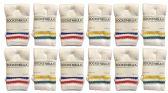 60 of Yacht & Smith Kids Cotton Tube Socks White With Stripes Size 4-6 BULK PACK