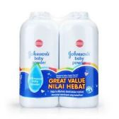 120 of Johnson's Twin Pack Regular Baby Powder Shipped By Pallet