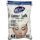 48 of Wish 100 Count Cotton Balls