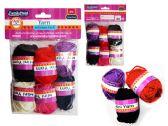 96 of 6 Pc Mini Yarn In Asst Colors
