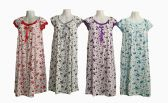 60 of Womens House Duster Night Gown Assorted Sizes