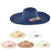 30 of Womens Paper Sun Hat With Rope And Flower