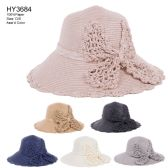30 of Womens Paper Bucket Hat With Bow