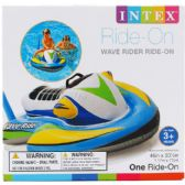 """6 of 46""""x30.5"""" WAVE RIDER RIDE-ON W/ HANDLE IN COLOR BOX, 3+"""