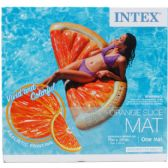 """6 of 70""""x33.5"""" ORANGE SLICE MAT FOR ADULTS"""