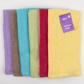 72 of Kitchen Towel 15x25 6 Assorted Colors See N2 Peggable
