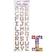 144 of Rhinestone Sticker Letters