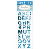 144 of Shiny Stickers Letters Dark Blue