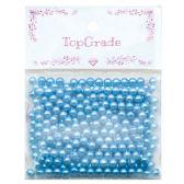 96 of Acrylic Pearl Bead Blue
