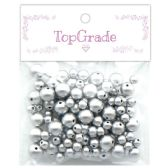 96 of Beads Silver