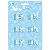 96 of Wooden Decoration Baby Blue Letter Baby