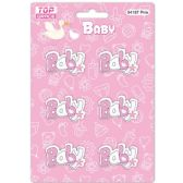 96 of Wooden Decoration Baby Pink Letter Baby