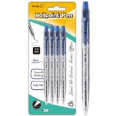 96 of Four Count Click Ballpoint Pen Blue