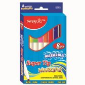 144 of Eight Piece Washable Markers Super Tip