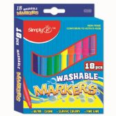 96 of Eighteen Piece Washable Markers