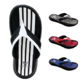 48 of Mens Striped Sandal