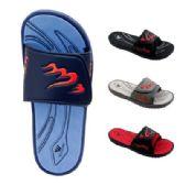 48 of Men's Flame Velcro Slide