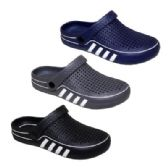 36 of Mens Striped Garden Clogs