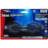 """48 of 6.75"""" SWIMMING GOGGLES ON BLISTER CARD, 2 ASSRT CLR"""