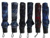 60 of Mini Assorted Printed Umbrellas