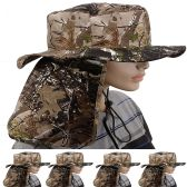 24 of Quick Dry Camping Neck Flap Camo Boonie Hat