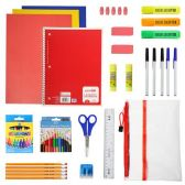 24 of 30 Piece Wholesale Kids School Supplies Kit