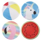 24 of Assorted Summer Themed Flying Disc