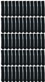 60 of Yacht & Smith 28 Inch Men's Long Tube Socks, Black Cotton Tube Socks Size 10-13