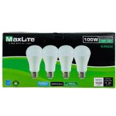 24 of Maxlite 4 Pack LED Bulb 15 Watt