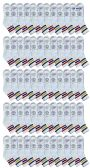 60 of Yacht & Smith Men's King Size Premium Cotton Sport Ankle Socks Size 13-16 With Stripes