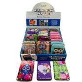 24 of Aluminum Wallet Owls