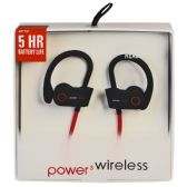 6 of POWER 3 WIRELESS BLACK AND RED