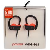 6 of POWER 3 WIRELESS BLACK AND PINK