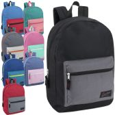 24 of Urban Sport 17 Inch Color Block Backpack