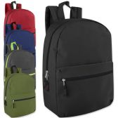24 of 17 Inch Promo Backpack - Assorted Colors