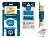 72 of 350pc Wooden Cotton Swab